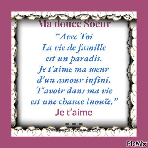 Poeme Pour Ma Soeur Picmix