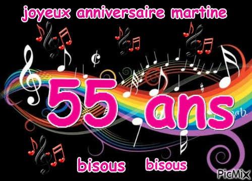 Joyeux Anniversaire Martine Picmix