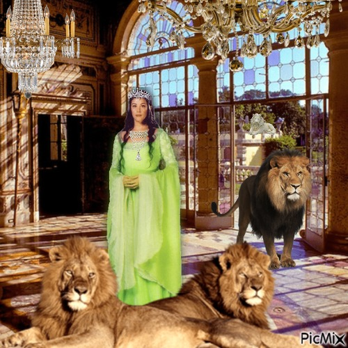 Lady And The Lions