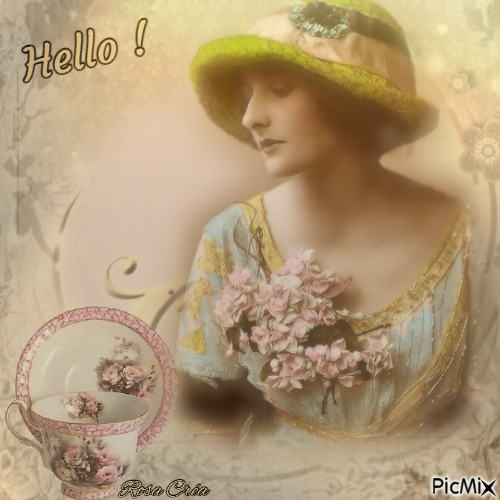 Hello - Vintage