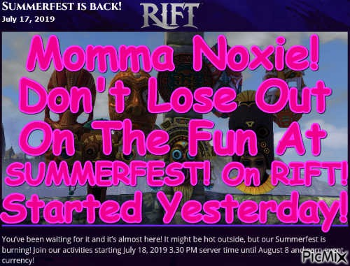 Momma Noxie! Summerfest! 2019!
