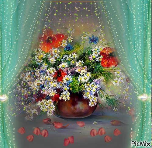 Parmis les fleurs