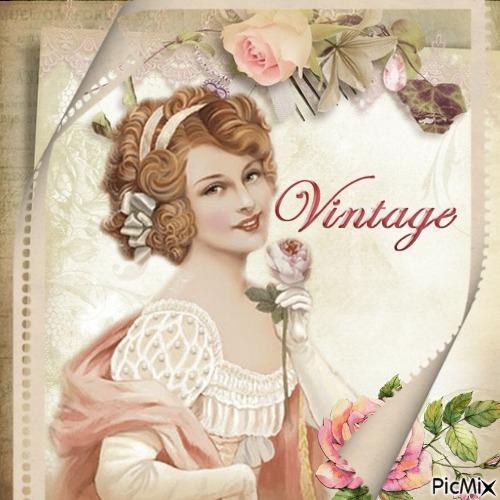 ☆☆Vintage woman☆☆