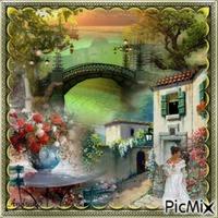 Paysage /Vintage...