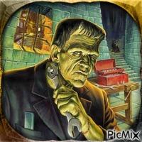 Frankenstein - Porträt