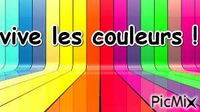vive les couleurs
