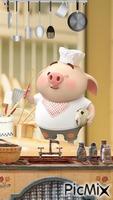 Cerdito cocinero