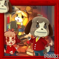 Animal Crossing - Digby