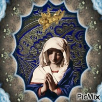 femme priant