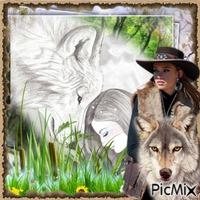 l'aventurière est son loup