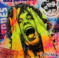 Mick Jagger - Pop Art