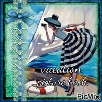 vacation picture book