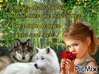 L'enfant et les loups