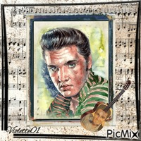 """Elvis"""" le roi du rock and- roll """""""