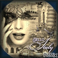 Hello Italy!