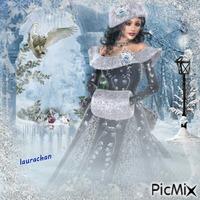 lady winter- laurachan