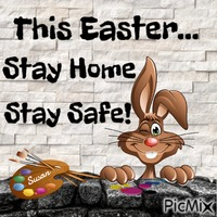 This Easter Stay Home Stay Safe!