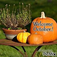 Welcome October.!