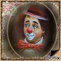 Clown adorable.