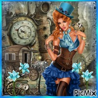 Blue Steampunk