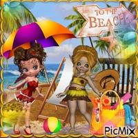 doll,s on the Beach