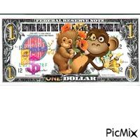 dollar of the monkey