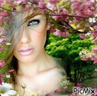Beaux yeux et belle Femme