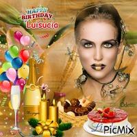 Joyeuse Anniversaire a mon amie Luisucia