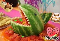 Having fun with Watermelon!