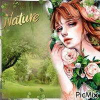 Belle dans la nature