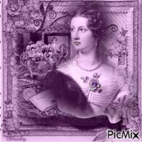 Victorienne - Tons violets