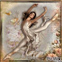 La ballerine et les cygnes