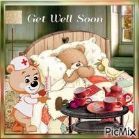 Get well soon / Guéris vite