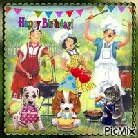 Alles Gute zum Geburtstag Hund