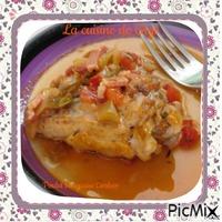 Poulet basquaise Cookeo