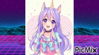 Manga Girly Unicorn