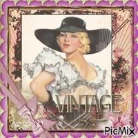 Vintage Frau