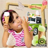Crème glacée .... Ice cream