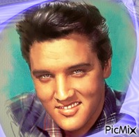 Portrait Elvis Presley