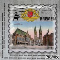 Bremen Poststamp