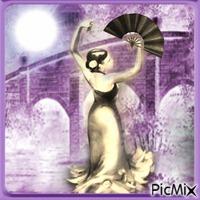 flamenco au clair de lune