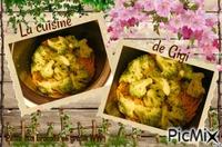 Pâtes aux brocolis en gratin WW