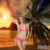 Sexy Summer redhead