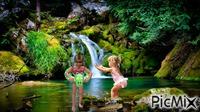 baignade cascade