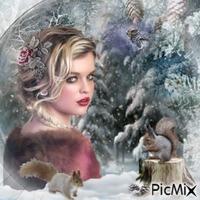 Portrait hivernal
