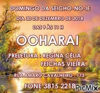 DOMINGO 30 DEZEMBRO 18