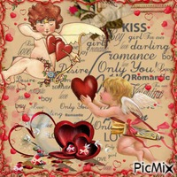 Cupidon vintage