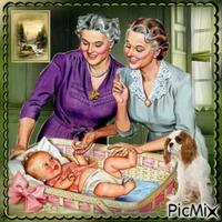 Maman et son bébé - Contest