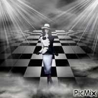 Checkered Fashion Runway