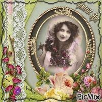 Portrait femme vintage !